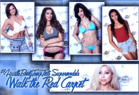 #HustleBootyTempTats Supermodels Walk the Red Carpet at The Hard Rock Hotel and Casino Las Vegas