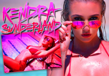 Kendra Sunderland's Very First Supermodel Photo Shoot