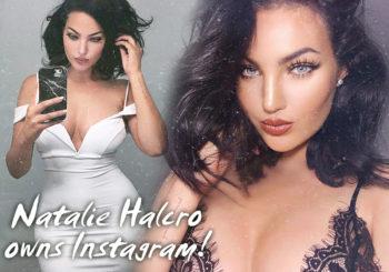 Natalie Halcro Owns Instagram
