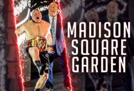 Brock Lesnar Defends the WWE Universal Title in a Rare Live Event Appearance at Madison Square Garden