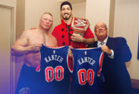 Paul Heyman's Special Guest For Brock Lesnar's  Universal Title Defense at Madison Square Garden: Enes Kanter of the New York Knicks