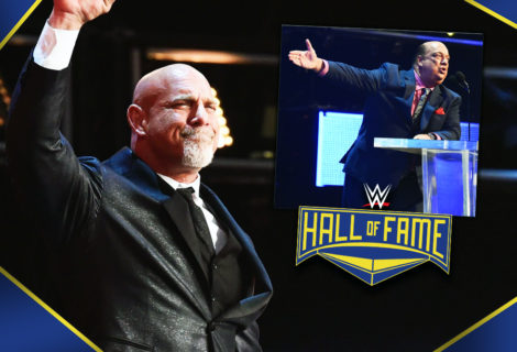 Paul Heyman Inducts Goldberg into the WWE Hall of Fame