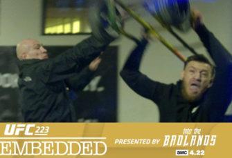 UFC Posts Shocking Footage of Conor McGregor Vs A Bus