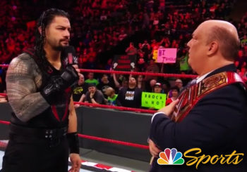 Roman Reigns Talks to NBC Sports About the Possibility of Being a Paul Heyman Guy