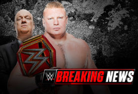 Breaking News WWE Update on Brock Lesnar and Paul Heyman