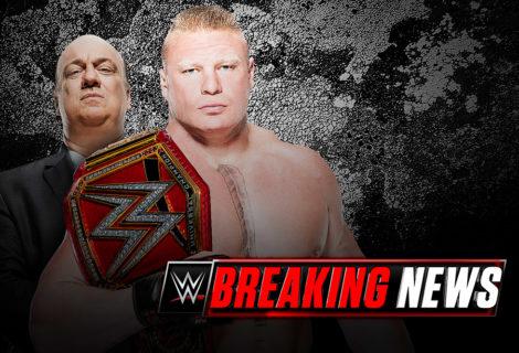 Breaking News WWE Update on Brock Lesnar and Paul Heyman