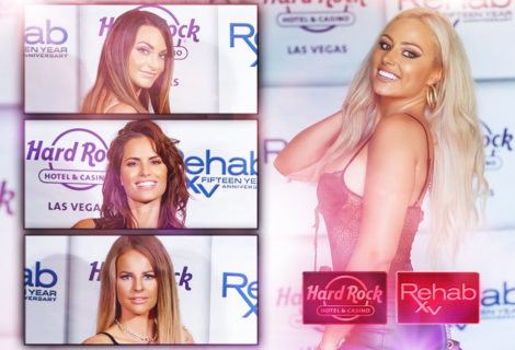 LIVE FROM THE RED CARPET: The #HustleBootyTempTats Supermodels Steal the Show at the Hard Rock Hotel and Casino Las Vegas