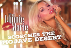 Miss Lynnie Marie Scorches the Mojave Desert