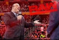 Paul Heyman Returns to WWE Monday Night RAW … Just in Time to Stop Kurt Angle From Stripping Brock Lesnar of the Universal Title
