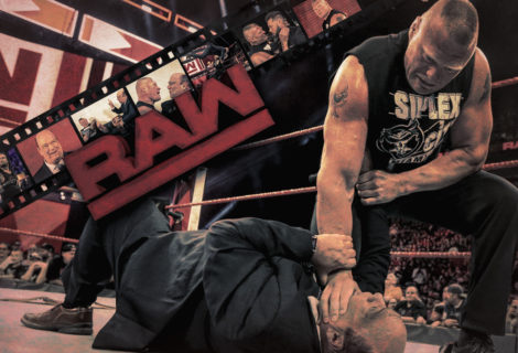 Brock Lesnar Returns, F5's Kurt Angle and Attacks Paul Heyman