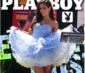 Playboy PMOY Jaclyn Swedberg is Kickin' It on Social Media