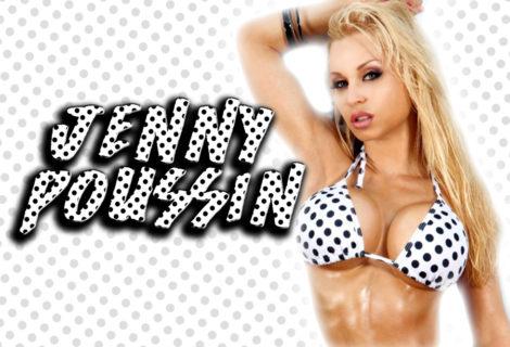 bikini Hustler polka dot