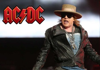 Axl Rose and AC/DC Have Debuted Together ... and They Rocked The House in Lisbon