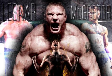Brock Lesnar Goes Off on Conor McGregor