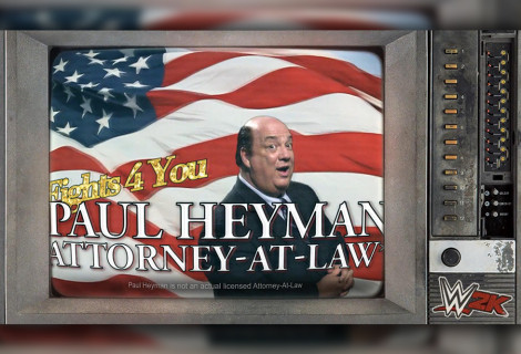 EXCLUSIVE! See the WWE 2K17 #SuplexCityTV Commercial For Attorney Paul Heyman