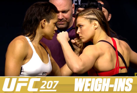 Live Coverage of the UFC 207 Weigh-Ins Featuring Ronda Rousey and Amanda Nunes