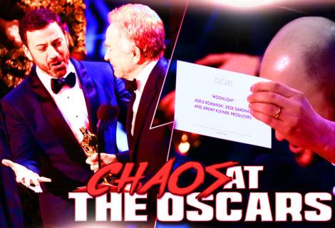 Chaos at the Oscars