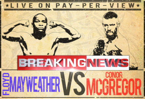 Mayweather Vs McGregor: It's On!