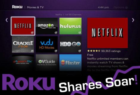 Roku Goes Public, Stock Soars