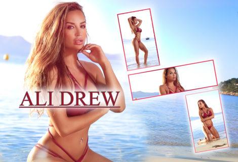Miss Ali Drew Heats Up the Coast of Mallorca