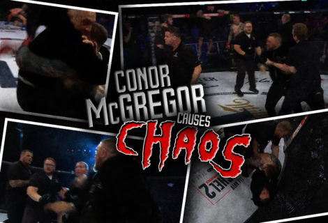 Conor McGregor Causes Chaos ... at a Bellator Event