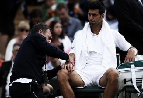Djokovic Setback