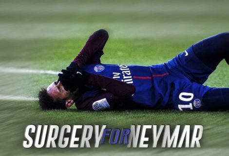 Surgery For Neymar