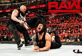 Full Segment From WWE Monday Night RAW of Brock Lesnar's Brutal Beatdown of a Handcuffed Roman Reigns