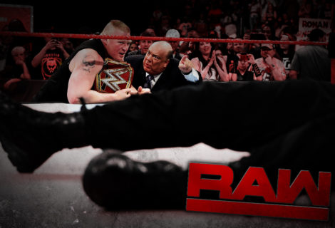 WWE Monday Night RAW Ends with a Monumental F5