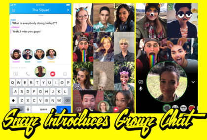 Snapchat Gets Into the Old Party Line Biz