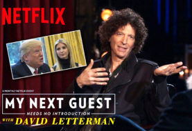 Howard Stern Needs No Introduction to David Letterman