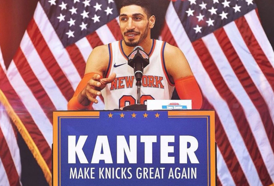 Enes Kanter is All In with the New York Knicks