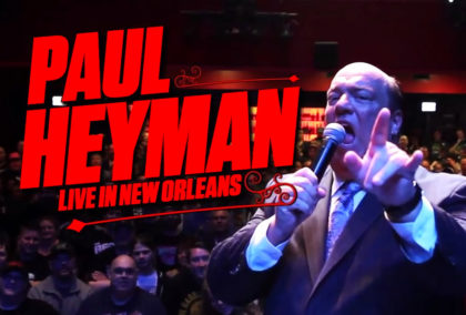 Check Out Ary Dalton's Documentary Short on Paul Heyman's WrestleMania Week Show in New Orleans