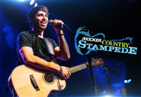 Morgan Evans is #LivinLoud at KICKER Country Stampede