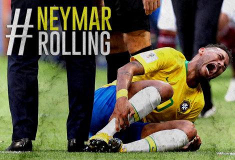 #NeymarRolling is Trolled by KFC Africa