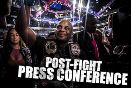 LIVE Coverage of the UFC 226 Post Fight Press Conference