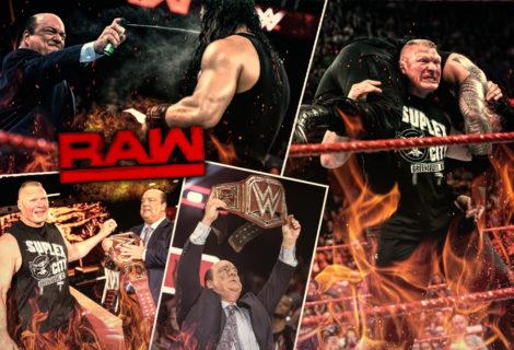 Paul Heyman and Brock Lesnar Tame The Big Dog