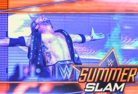 Hustle Photo Book: WWE Champion AJ Styles Gets Disqualified Against Samoa Joe at SummerSlam