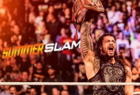 Hustle Photo Book: Roman Reigns Wins the Universal Title at WWE SummerSlam
