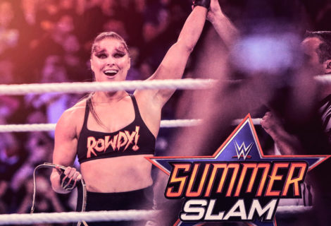Hustle Photo Book: Rowdy Ronda Rousey Becomes 1st Woman in History to Win Championships in UFC and WWE, Taps Out Alexa Bliss at SummerSlam