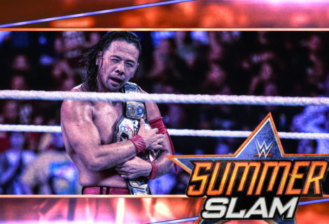 Hustle Photo Book: United States Champion Shinsuke Nakamura Defeats Jeff Hardy at WWE SummerSlam