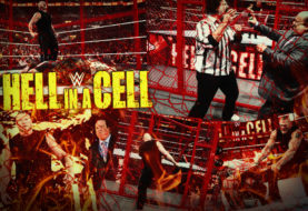 BROCK SHOCK AT HELL IN A CELL!