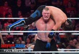 Free Match: Brock Lesnar Vs AJ Styles at WWE Survivor Series 2017