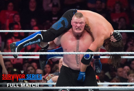 Free Match: Brock Lesnar Vs AJ Styles at WWE Survivor Series 2017