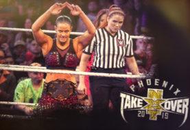 Hustle Photo Book: NXT Women's Champion Shayna Baszler Vs Bianca Belair NXT TakeOver: Phoenix