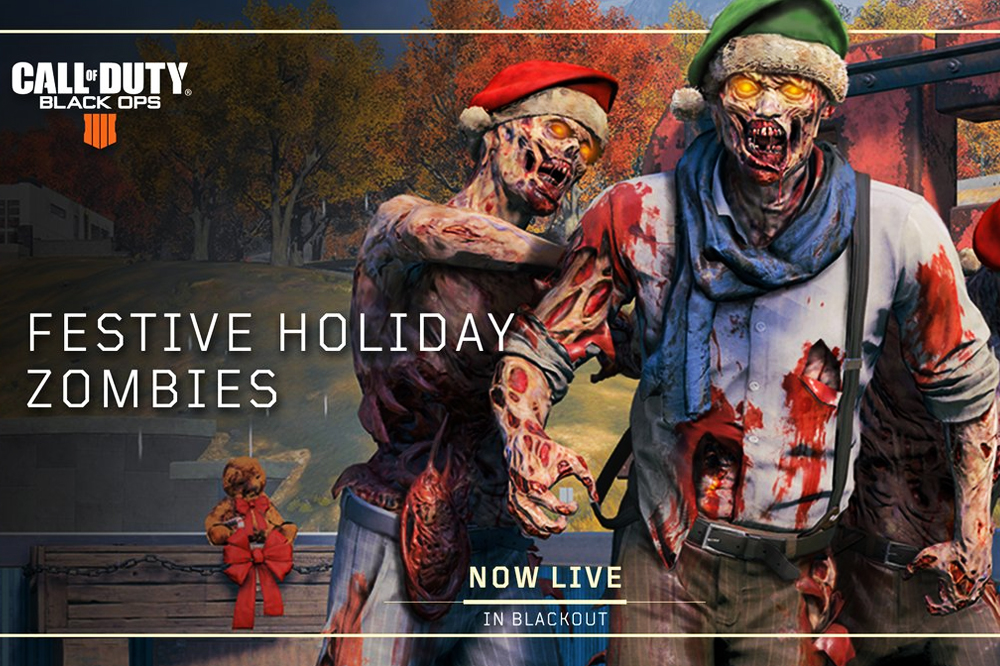 Santa Zombies Invade Black Ops 4