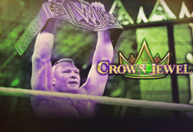 BROCK CONQUERS BRAUN TO REGAIN THE WWE UNIVERSAL TITLE AT CROWN JEWEL