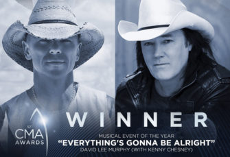 """David Lee Murphy with Kenny Chesney Wins Musical Event of the Year for """"Everything's Gonna Be Alright"""""""