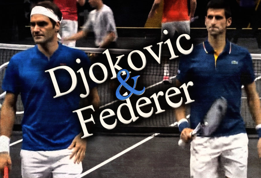 Djokovic and Federer Team Up … and LOSE!