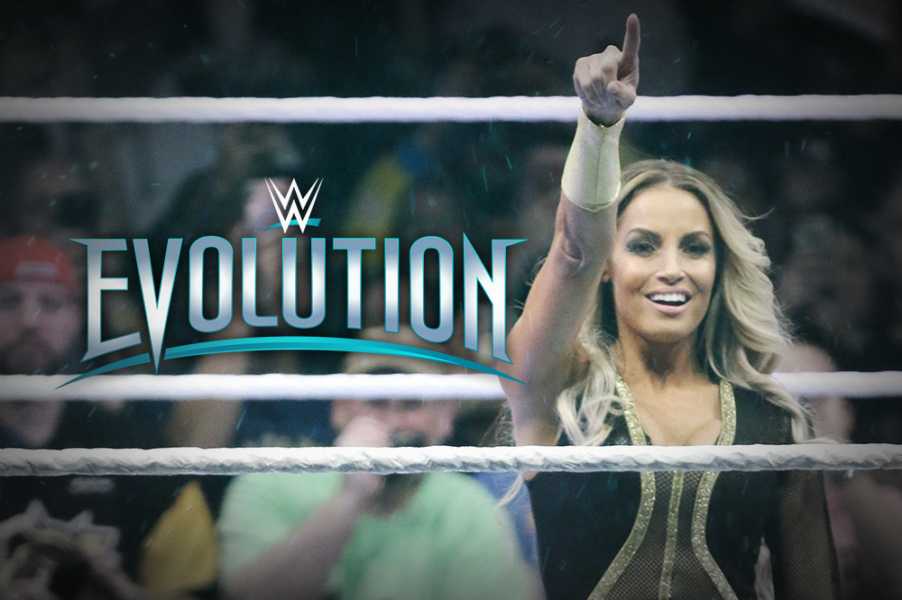 360 Coverage of WWE Evolution: Trish Stratus and Lita Defeat Mickie James and Alicia Fox